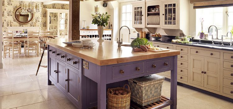 Enjoy country living in the city with a rustic style kitchen