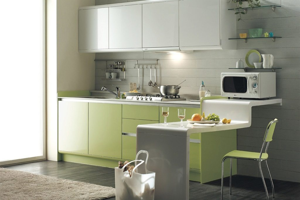 Green Kitchen Colour Ideas 2017