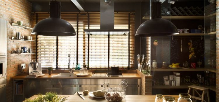 Industrial style kitchens: How to work the look