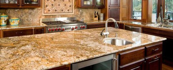 Apollo granite kitchen worktops