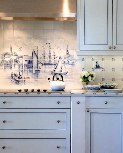 Nautical Style Kitchen Ideas