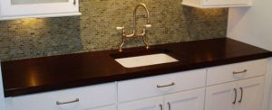 Wenge wooden worktops