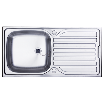 Bretton Park Illinois 1.0 Bowl Stainless Steel Kitchen Sink