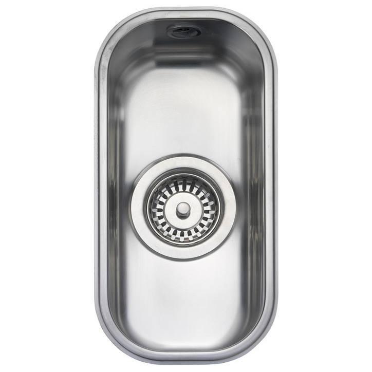 rangemaster atlantic classic 0 5 bowl stainless steel undermount rh hcsupplies co uk small sinks for kitchens stainless small kitchen sinks for caravans