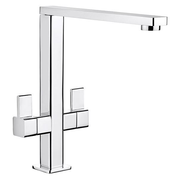 Rangemaster Metrix Brushed Stainless Steel Tap