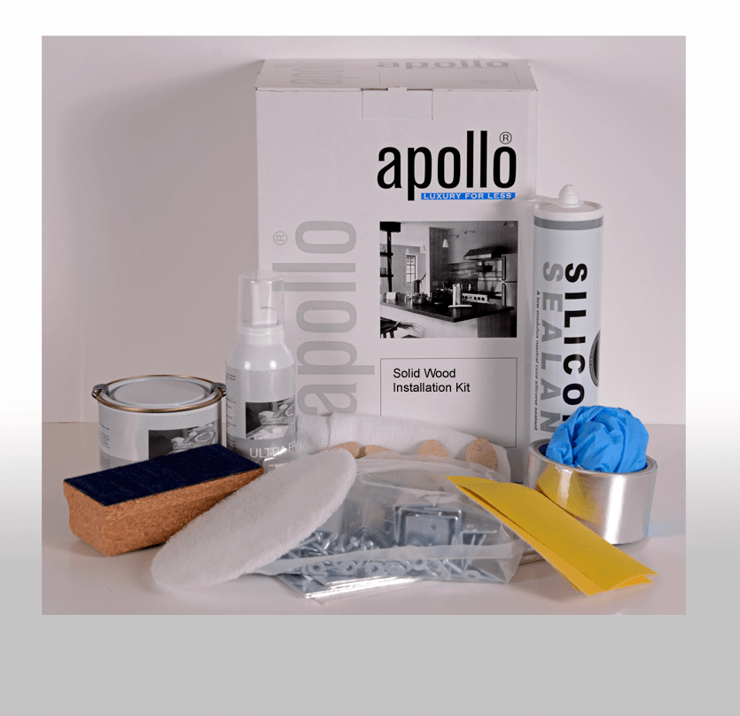 Apollo Solid Wood Worktop Installation Kit