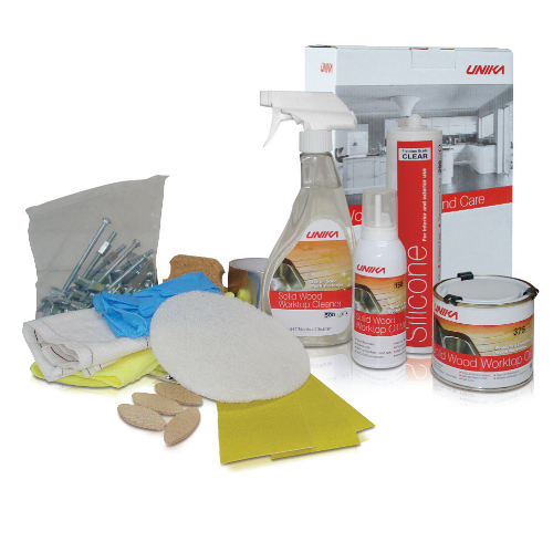 Solid Wood Worktop Installation And Care Kit