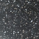 Pietra Black Fizz 650mm Solid Surface Worktop