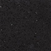 Simply Quartz Black Sparkle Made To Measure 20mm