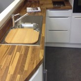 Solid Wood Farmhouse Oak 40mm Stave Worktops