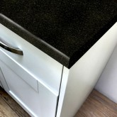 Axiom Avalon Black Granite Matt 665mm Breakfast Bar