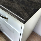 Axiom Black Sequoia Scovato 665mm Breakfast Bar