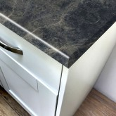 Axiom Breccia Marrone Honed 665mm Breakfast Bar