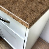 Axiom Butterum Granite Etchings 665mm Breakfast Bar