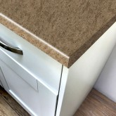 Axiom Cappuccino Stone Lustre 600mm Breakfast Bar