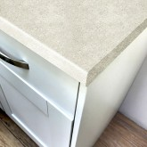 Axiom Imperial White Lustre 665mm Breakfast Bar