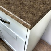 Axiom Jamocha Granite Etchings 665mm Breakfast Bar