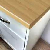 Axiom Padua Oak Lumber 665mm Breakfast Bar