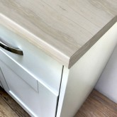 Axiom Pale Maple Woodland 665mm Breakfast Bar
