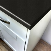 Axiom Paloma Black Gloss 600mm Worktop
