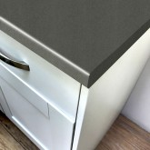 Axiom Paloma Dark Grey Matt 665mm Breakfast Bar