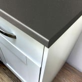 Axiom Platinum Graphite 665mm Breakfast Bar