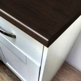 Axiom Scarlet Oak Puregrain 665mm Breakfast Bar