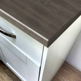 Axiom Shadow Oak Puregrain 665mm Breakfast Bar