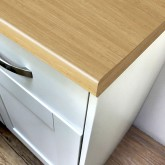 Axiom Swedish Oak Puregrain 665mm Breakfast Bar