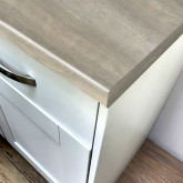 Axiom Thai Beamwood Puregrain 665mm Breakfast Bar