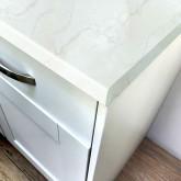 Axiom Veneto Marble 600mm Worktop