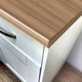 Axiom Walnut Microplank Woodland 600mm Worktop