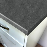 Duropal Black Limestone 670mm Breakfast Bar