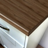 Duropal Dark Coppice Oak 670mm Breakfast Bar