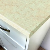 Duropal Light Marble 670mm Breakfast Bar