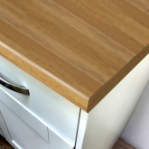 Duropal Natural Oak Block 670mm Breakfast Bar