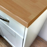 Pro-Top Beech Block Smooth Laminate Worktop - 600mm