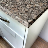 Granite Rossini Perl Laminate Breakfast Bar - Pro-Top - 900mm