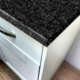 Black Granite Crystal Laminate Worktop - Pro-Top - 600mm