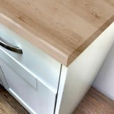 Pro-Top Sand Artisan Beech Super Matt Laminate Worktop - 600mm