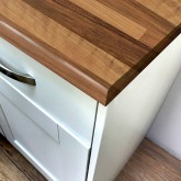 Pro-Top Walnut Block Perl Laminate Worktop - 600mm