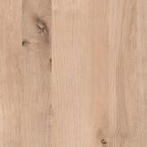 Square-Top Natural Longbarr Oak Upstand