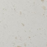 Nuance White Shell Solid Surface 100mm Upsatnd