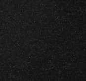 Nuance Black Sparkle Solid Surface 600mm Worktop