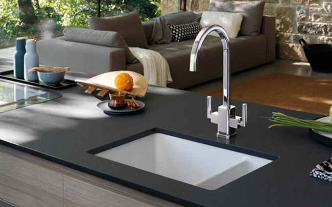Black Ceramic Kitchen Sinks