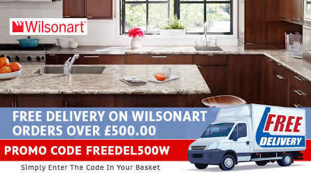 WilsonArt Worktops Free Delivery Special Offer - HcSupplies