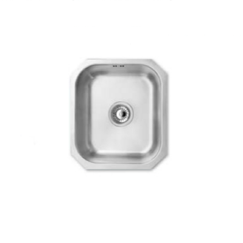 Bretton Park Arun JPD1006 1.0 Bowl Undermount Stainless Steel Kitchen Sink