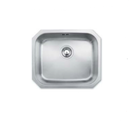 Bretton Park Arun JPD1009 1.0 Bowl Undermount Stainless Steel Kitchen Sink