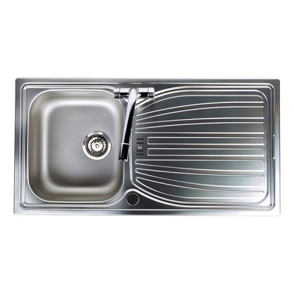 Compact sinks compact kitchen sinks trade prices astracast alto 10 bowl stainless steel kitchen workwithnaturefo