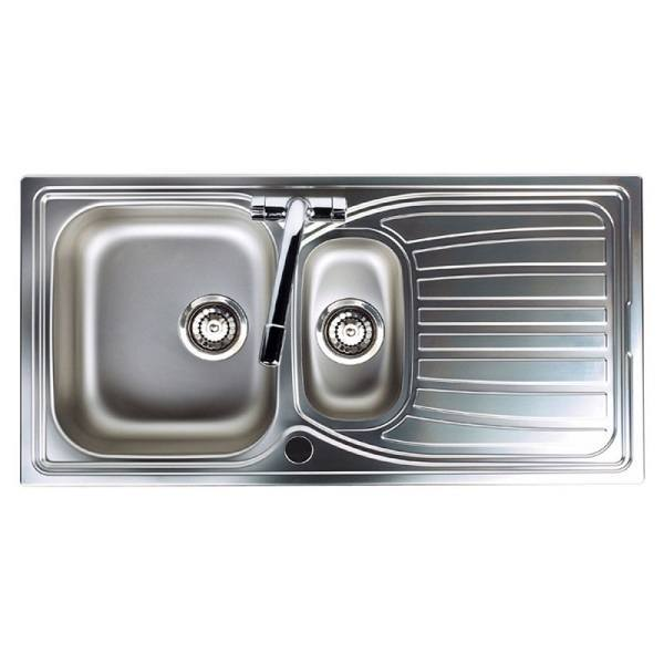 Astracast Alto 1 5 Bowl Stainless Steel Kitchen